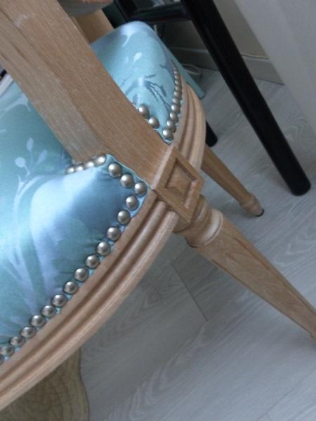 Chaise médaillon Louis XVI