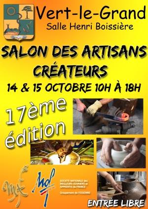 Salon artisan vert le grand 2017