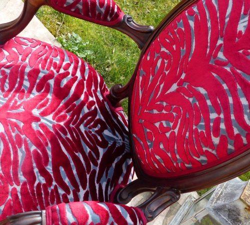 Cabriolet LP Pantigre Papaye Designer Guild