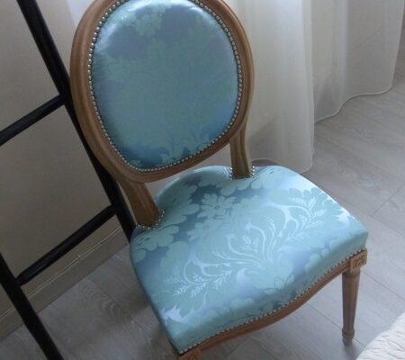 Chaise médaillon Louis XVI Nobilis