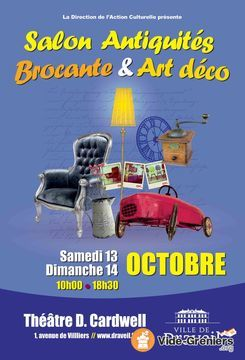 affiche salon brocante octobre 2018