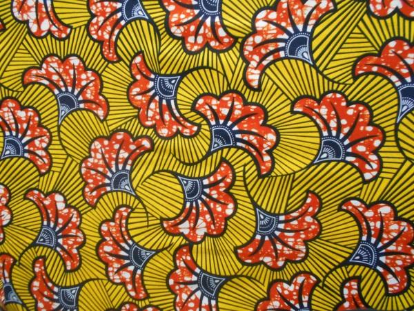 tissu imprimé graphisme ethnique wax inspiration africaine