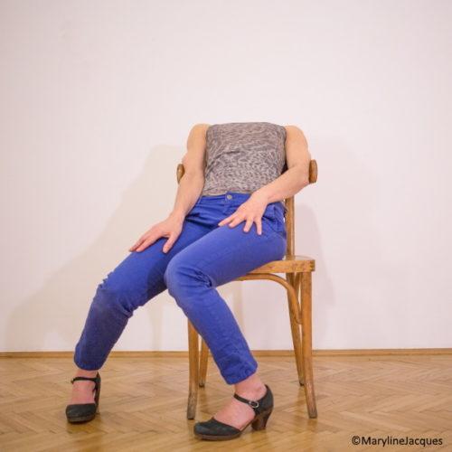 photo autoportrait artiste