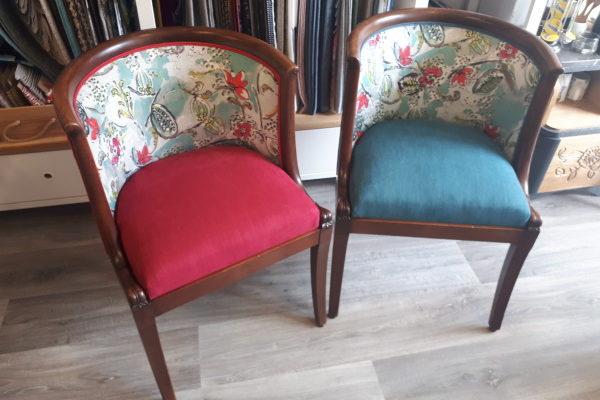 fauteuils dossier gondole 2